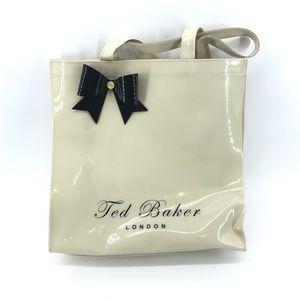 🌿 Ted Baker London Polyvinyl Chloride Tote Bag